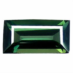 0.73ct Forest Green Natural Tourmaline Rectangle Cut (GEM-19571A)
