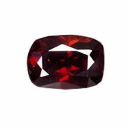 3.94ct Marvelous Wine Red Garnet Cushion Facet (GEM-20660)