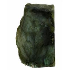 400ct Gem Grade Labradorite Polished Slab Neon Peacock Colors (GEM-21143)