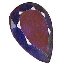 50.33ct. Rich Royal Blue African Sapphire Pear Cut (GEM-21345)
