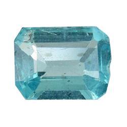 0.61ct Blue Green Rare Neon Natural Apatite  (GEM-25475)