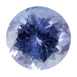 0.39ct Natural Brilliant Blue Tanzanite Round Hi Grade  (GEM-25569)