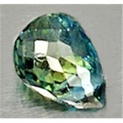 .7ct Fabulous Natural Green Blue Sapphire Briolette (GMR-0283)