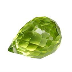 .3ct Amazing Green Peridot Briolette (GMR-0521)