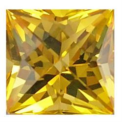 2.1mm Scintillating Square Golden Yellow Sapphire (GMR-0531A)