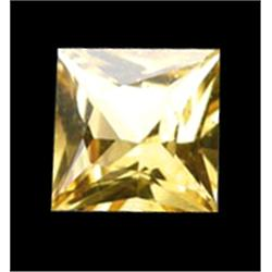 2mm Princess Cut Top Yellow Golden Sapphire (GMR-0567)