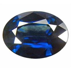 .95ct Winsome Oval Facet Blue Sapphire  (GMR-0586A)