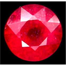 1.8ct Round 6.5Mm Top Blood Red Ruby (GMR-0606)