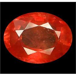 1.1Ct VS-SI Orange & Pink Oval Padparadsha Sapphire (GMR-0839F)