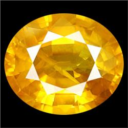 .6Ct Sublime AAA Yellow Sapphire Oval 6X4mm (GMR-0936A)