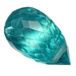.35ct Shining Blue Apatite Briolette (GMR-0949A)