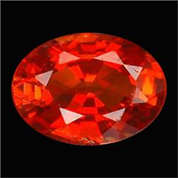 .45ct Perfect Oval Red Orange Sapphire (GMR-0997)