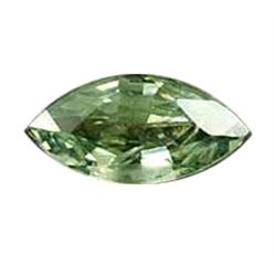 5.9mm Marquise Clean Natural Green Songea Sapphire (GMR-1002)
