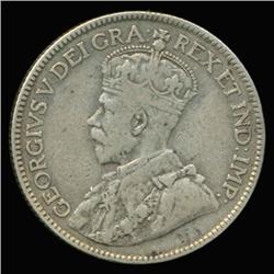 1913 Canada 25c Silver Hi Grade (COI-6736)
