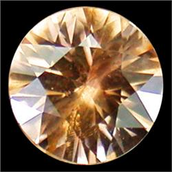 .38ct Fantastic Round Brown Zircon Unheated (GMR-0621A)