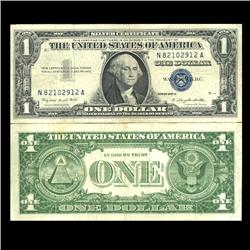 1957A $1 Silver Certificate Crisp Circulated (CUR-06024)