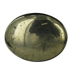 34.07ct Fabulous Cut & Polished Pyrite Gem Oval (GEM-22089)