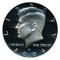 2004S US Kennedy Proof Half Coin GEM  (COI-4641)