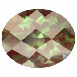 2.15ct Variable Color Luxury Green Natural Andesine Appraisal Estimate $860 (GEM-19584)