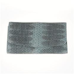 Ladies Gray Sea Snake Wallet (ACT-020) (ACT-020)