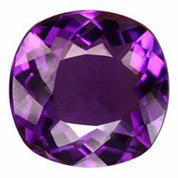 28.28ct Exquisitely Uruguay Purple Cushion Amethyst (GEM-22730)