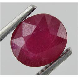 2.9ct Ruby Oval Red Afghanastan (GEM-17974)