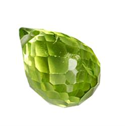 .3ct Amazing Green Peridot Briolette (GMR-0513)