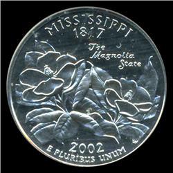 2002S Mississippi Quarter Graded PR70 DCAM (COI-5444)