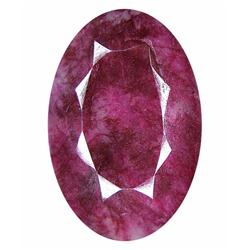 68.52ct. Excellent African Ruby Oval Cut (GEM-21220)