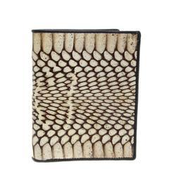 Mens Rare Cobra Skin Upright  Wallet (ACT-070)