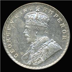 1919B India Silver Rupee High Grade Rare Variety (COI-6651)