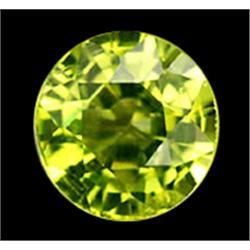 2mm Round Cut Natural Rich Green Peridot (GMR-0574)
