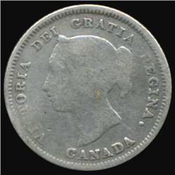 1881 Canada 5 Cent Better Grade (COI-7113)