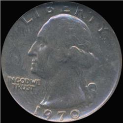 1970 Washington 25c Quarter Coin Graded GEM (COI-6860)