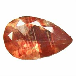 2.30ct Wonderful Fire Red Green Natural Andesine Appraisal Estimate $1380 (GEM-19736)