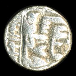 1500s India Medeival Mughul Silver 1/2 Rupee Coin Hi Grade (COI-5787)