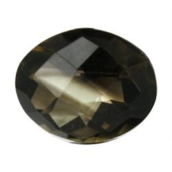 12.16ct Shimmering Natural Smoky Quartz (GEM-24179)
