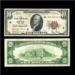 1929 $10 Note NY RARE Hi Grade (COI-4668)