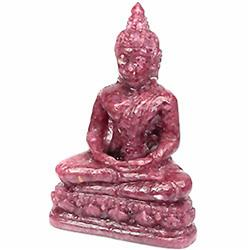 559ct. Buddha Figure Statue Red Pink Sapphire (GEM-3615A)