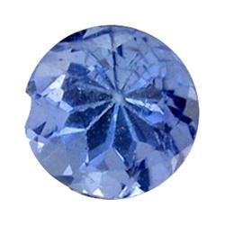0.26ct Natural Brilliant Blue Tanzanite Round Hi Grade  (GEM-25576)