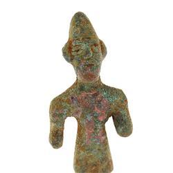 Ancient Tel Halaf Clay Idol 1500BC  (ANT-478)