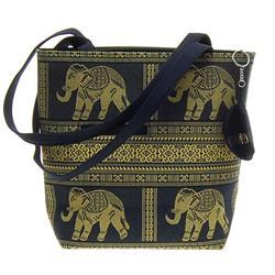 Thai Silk Hand Crafted Elephant Handbag (ACT-224)