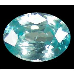 .4ct Elegant Long Oval Cut Blue Natural Zircon (GMR-0484)