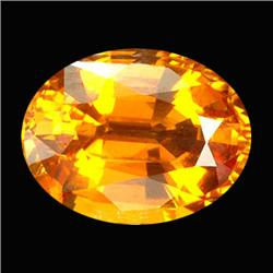 .45ct Perfect Oval Golden Sapphire (GMR-0996)