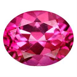 5.76ct Oval AAA Pink Topaz  (GEM-22344B)