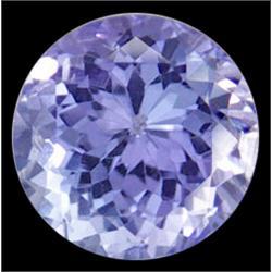 2mmTop AAA VVS Round Cut Blue Tanzanite (GMR-0344)