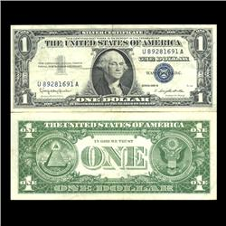 1957B $1 Silver Certificate Crisp Circulated (CUR-06025)