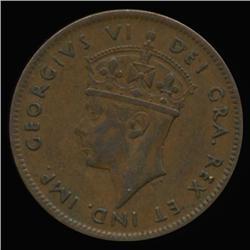 1940 Canada Newfoundland 1c Hi Grade RARE (COI-6774)