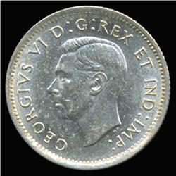 1941 Canada 10c Silver Hi Grade AU (COI-6734)