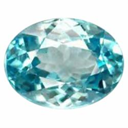 .55ct Splendid Oval Blue Zircon Natural Unheated (GMR-1032A)